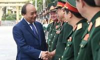 Нгуен Суан Фук принял участие в церемонии начала нового учебного года в Академии ВНА