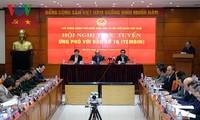 Премьер-министр Нгуен Суан Фук руководит борьбой с тайфуном Тембин