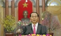 Новогоднее обращение Президента Вьетнама Чан Дай Куанга к народу