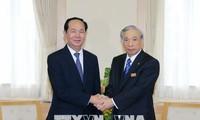 Президент Вьетнама Чан Дай Куанг посетил японскую префектуру Гунма