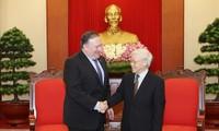 Вьетнам и США укрепляют всеобъемлющее партнёрство