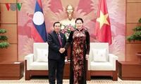 Вьетнам и Лаос активизируют сотрудничество и обмен опытом между парламентами
