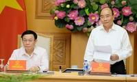 Премьер CРВ принял участие в совещании Государственного консультативного совета по денежной политике