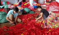 Тыван – деревня по пошиву государственных флагов Вьетнама