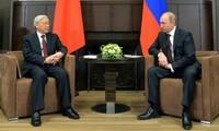Российские эксперты высоко оценили визит генсека ЦК КПВ Нгуен Фу Чонга в РФ
