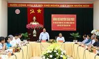 Премьер Вьетнама провел рабочую встречу с руководством провинции Контум