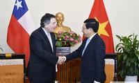 Вице-премьер, глава МИД Вьетнама принял министра иностранных дел Чили