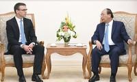 Премьер-министр Вьетнама Нгуен Суан Фук принял главу МИД Эстонии