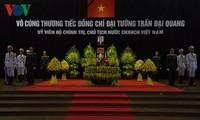 Во Вьетнаме проходит торжественная церемония прощания с президентом страны Чан Дай Куангом