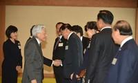 Нгуен Суан Фук и руководители стран дельты реки Меконг встретились с императором Японии