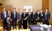 Нгуен Тхи Ким Нган встретилась со спикерами южнокорейского парламента и нижней палаты Беларуси