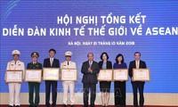 Нгуен Суан Фук принял участие в конференции по итогам саммита ВЭФ по АСЕАН