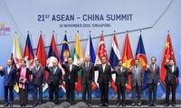 Премьер Вьетнама принял участие во встречах в кулуарах 33-го саммита АСЕАН