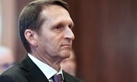 Нарышкин рассказал о сотрудничестве разведок России и США