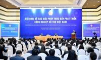 Премьер-министр Вьетнама принял участие в конференции по развитию вспомогательной промышленности