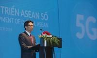Ву Дык Дам: развитие мобильной связи 5G имеет важное значение для стран АСЕАН