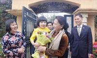 Председатель Нацсобрания Вьетнама прибыла в Марокко с официальным визитом