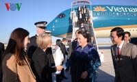 Нгуен Тхи Ким Нган находится во Франции с официальным визитом