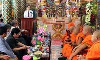 Глава ОФВ Чан Тхань Ман поздравил кхмеров с праздником «Чол Чнам Тхмай»