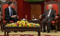 Нгуен Фу Чонг принял премьер-министра Нидерландов Марка Рютте