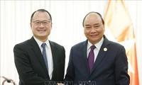 Премьер Вьетнама Нгуен Суан Фук встретился с иностранными предпринимателями