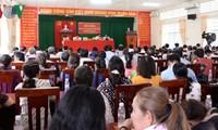 Нгуен Тхи Ким Нган встретилась с избирателями уезда Фонгдиен города Кантхо