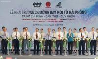 Нгуен Суан Фук принял участие в открытии трёх авиамаршрутов из Хайфона
