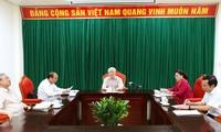 Генсек ЦК КПВ, президент Вьетнама Нгуен Фу Чонг провел совещание в Ханое