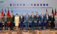 В Ханчжоу прошло 25-е консультативное совещание высокопоставленных чиновников АСЕАН и Китая
