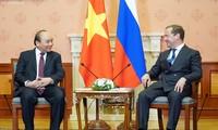 Нгуен Суан Фук провел переговоры с Дмитрием Медведевым