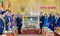 Спикер парламента Камбоджи посетил провинцию Ханам с рабочим визитом