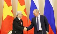 Отношения всеобъемлющего стратегического партнёрства между Вьетнамом и Россией развиваются с каждым днём