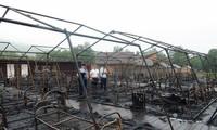 При пожаре в палаточном лагере в Хабаровском крае погибли четверо детей