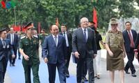 Премьер-министры Вьетнама и Австралии посетили полевой госпиталь второго уровня №2