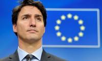 Justin Trudeau en visite en France et en Allemagne