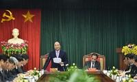Nguyen Xuan Phuc en déplacement à Tuyen Quang