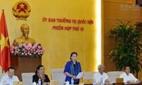 Clôture de la 15ème session du comité permanent de l'Assemblée nationale