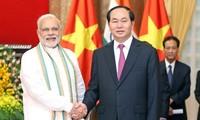 De belles perspectives dans les relations Vietnam-Inde