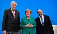 Allemagne: rencontre des dirigeants de la CDU, de la CSU et du SPD