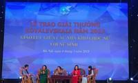 Remise du prix Kovalevskaia 2017 à deux femmes scientifiques