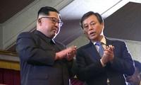 Kim Jong-un assiste à un concert d'artistes sud-coréens à Pyongyang