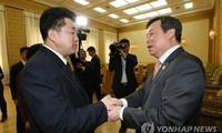 Les ministres du Sport des 2 Corées envisagent un défilé conjoint aux Jeux asiatiques