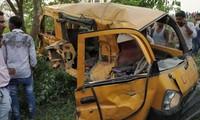Inde: 13 enfants tués dans un accident de van