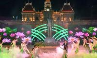 Célébration du 128e anniversaire du président Hô Chi Minh