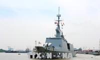 Des navires francais en visite à Hô Chi Minh-ville