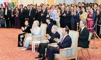 45e anniversaire des relations Vietnam-Japon: réception à Tokyo