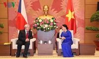 Les dirigeants vietnamiens reçoivent le vice-président de la Chambre basse tchèque