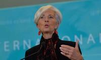 """Il n'y a """"pas de vainqueur"""" dans une guerre commerciale, prévient Christine Lagarde"""