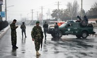 Neuf policiers tués dans un attentat suicide en Afghanistan