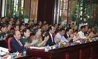 Le Premier ministre à une conférence-bilan de l'armée